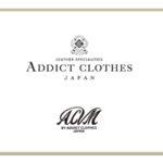 ADDICT CLOTHES 2018秋冬オーダー〆切