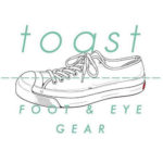 "toast FOOT & EYE GEAR ローカットスニーカー ""JAM """